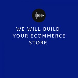 We Will Build Your eCommerce Store